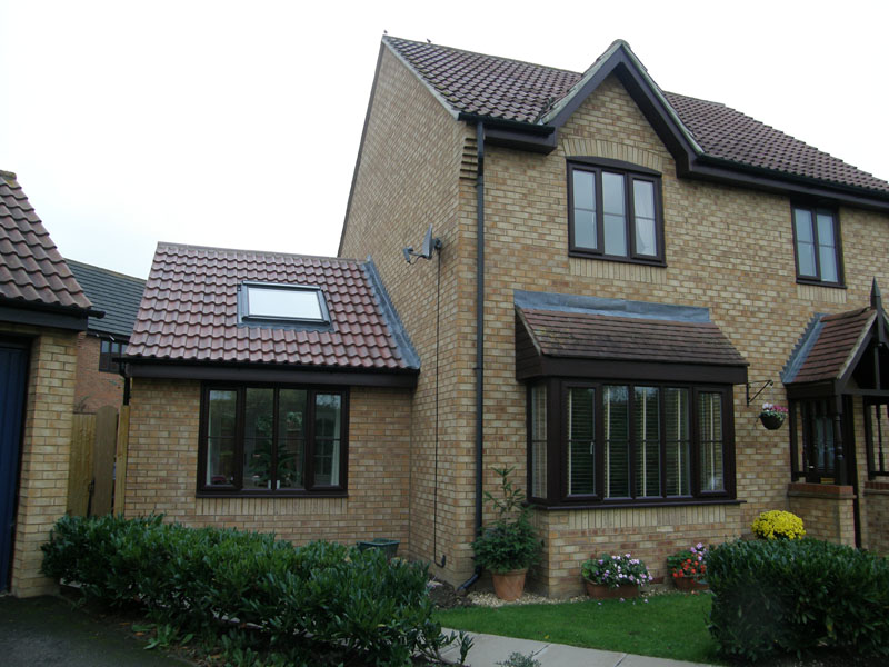 Domestic Designs Single Storey Amp First Floor Side Extension